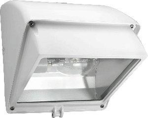 RAB Lighting WP1CF42W WP1 CFL Wallpack with Cutoff Glare Shield, Triple Type, Aluminum, 42W Power, 3200 Lumens, 277V, White