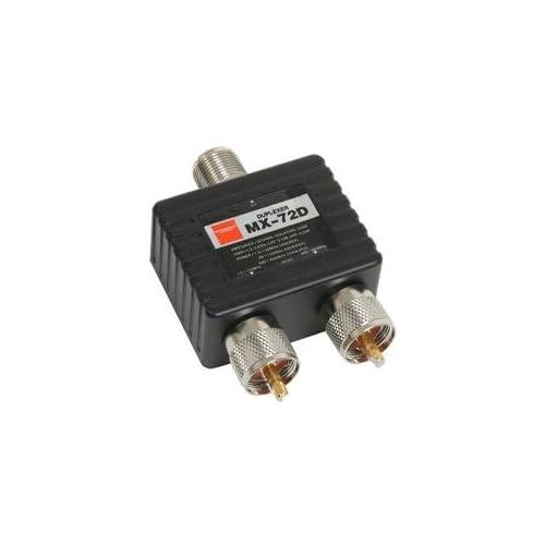 MX72D Duplexer: 1.6-30+140-150/400-460MHz