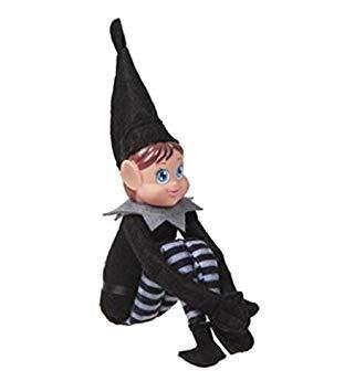 PMS Long Leg Novelty Naughty Adult Mischievous Festive Elf Sit On A -