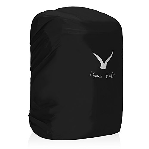 Hynes Eagle Backpack Rain Cover Waterproof Backpack Reflective Cover for 38-45L, Black