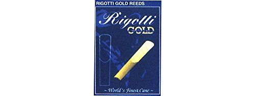 Rigotti Gold Soprano Saxophone Reeds Strength 2.5 Medium by Rigotti