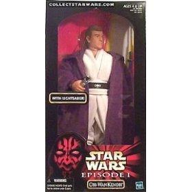 Star Wars: Episode 1 > Obi-Wan Kenobi Large Doll by Hasbro (12 Inch Obi Wan Kenobi Episode)