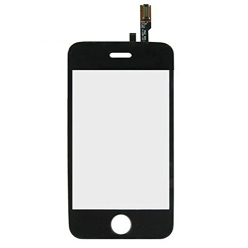 iPartsBuy Replacement Outer Screen Glass Lens for iPhone - Iphone 3gs Cracked