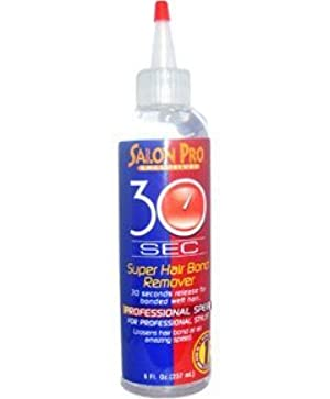 Salon Pro 30 Sec Super Hair Bond Remover 4 Oz by SALON PRO