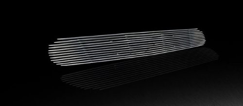(MaxMate Fits 01-05 Ford Explorer Sport/Sport Trac Replacement Lower Bumper 1PC Horizontal Billet Polished Aluminum Grille Grill Insert)