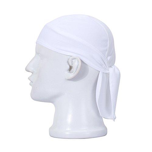 BaiTe Atmungsaktiv Kopfschutz Bandana Cap Unisex Radsport Bikertuch Mütze