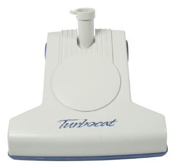 H TurboCat Air Driven Brush for All Central Vacuums (White)