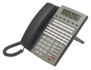 VoIP 34-Button Display Telephone /Bl ()