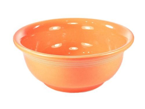 Fiesta Tangerine 422 Medium Mixing Bowl 8.5