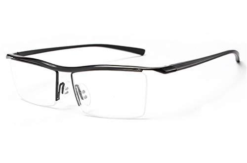 XIYANG luz Moda de Azul con Libre Sol Black Plano Negro Gafas miopía de de Aire al Azul Espejo Gafas Anti YPqxPrzw