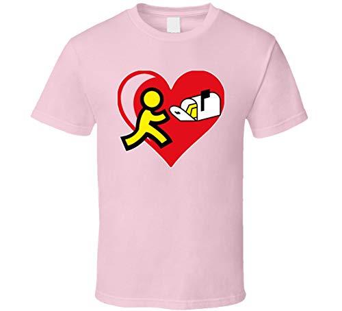 yeoldeshirtshop Youve Got Mail Love Classic T Shirt 2XL Light Pink