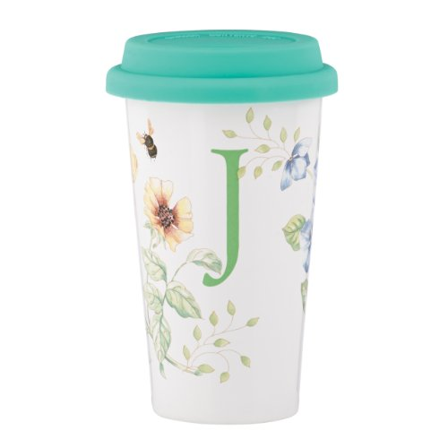 Meadow Coffee Butterfly - Lenox Butterfly Meadow Thermal Travel Mug, J