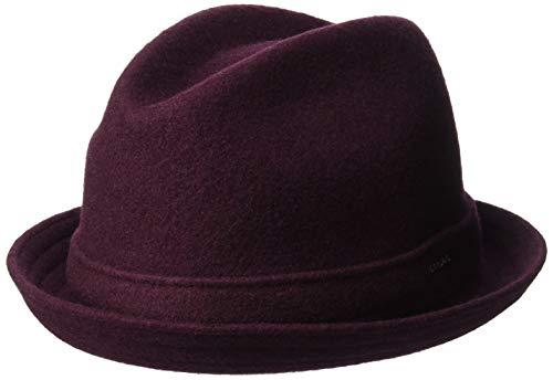 Fedora Hats Kangol (Kangol Men's Wool Player Fedora Trilby HAT, vino, M)