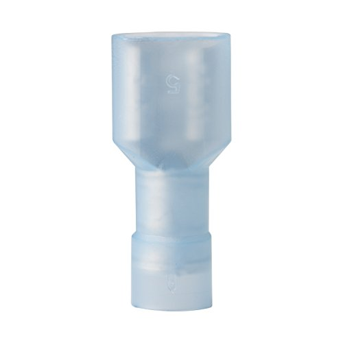 Ancor 221418 Marine Grade Electrical Nylon Insulated Double Crimp Funnel Entry Fully Insulated Disconnects with Insulation Grip (Female, 16 to 14-Gauge, 100-Pack)