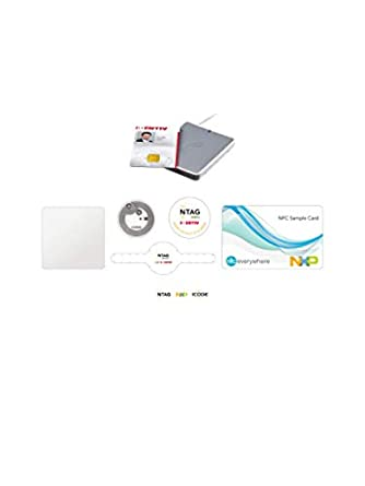 Amazon com: NXP NFC Tag Starter Kit with uTrust 3700F NFC Reader