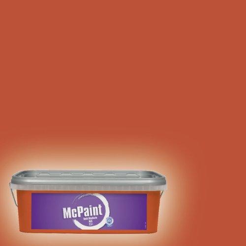 McPaint Bunte Wandfarbe matt True Orange  2,5 Liter