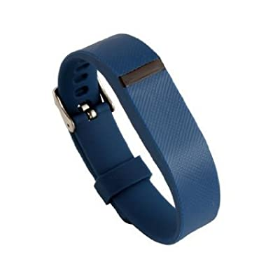 Replacement Wrist Band Buckle for Fitbit Flex - Code001 blue