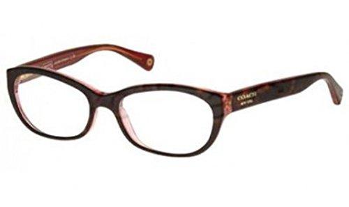 COACH Eyeglasses HC6041 5115 TORTOISE/PINK 5116 - Coach Glasses Pink