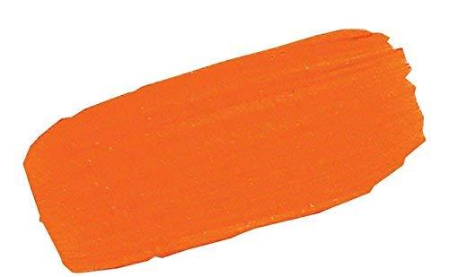 Golden GLDNHB-10702 Heavy Body Acrylic Paint, 2-Ounce, Cadmium Orange ()