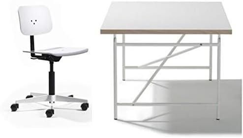Mesa de escritorio infantil Eiermann con tablero blanco - 120 x 70 ...