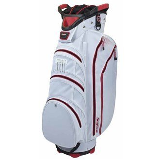 (BagBoy Lite Rider Cart Bag, Color- White/Red by Bag Boy)