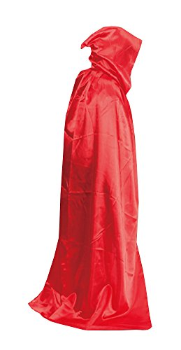 [MEYKISS Adults Cape Halloween Costume Deluxe Cloak Red] (Adult Vampire Halloween Costumes)
