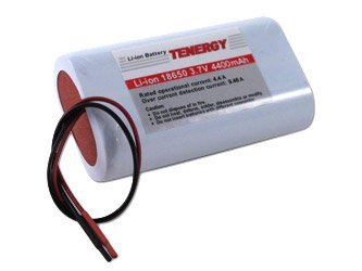 Li-Ion 18650 3.7V 4400 mAh Rechargeable Battery module with PCB