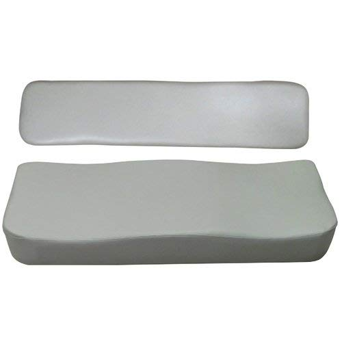 All States Ag Parts Seat Cushion Set - 2 Piece Gray Vinyl Kubota RTV900 by All States Ag Parts