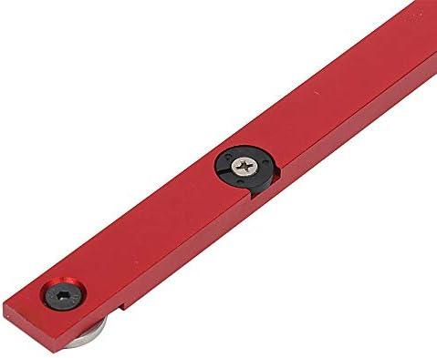 belupai Gehrungsmesser und Kastengelenk Jig mit verstellbarem Flip-Stop Holzbearbeitungswerkzeug f/ür Bosch