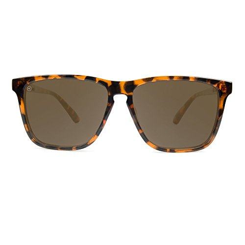 Glossy Sunglasses Lanes Amber Fast Shell Polarized Tortoise KNOCKAROUND xp4aag