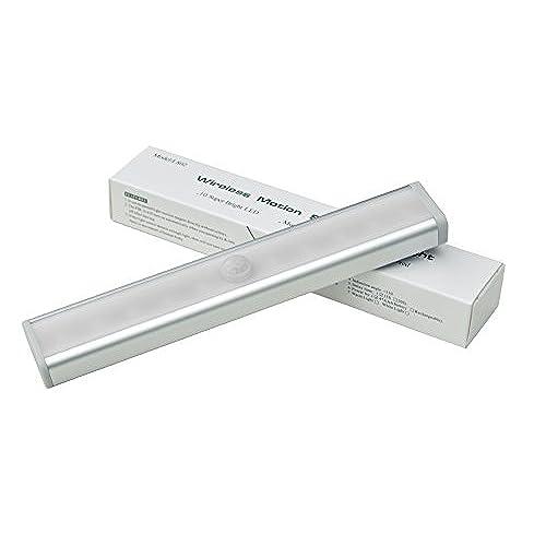 60 Off 2 Pack 10 Led Wireless Motion Sensor Light Bar With Magnetic