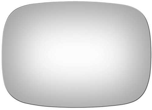 Burco 2109 Flat Driver or Passenger Side Manual Mirror Glass for Buick Apollo, Electra, LeSabre, Regal, Riviera, Skylark, Bel Air, Camaro, Caprice, Chevelle, Corvette, Camino, Impala, Malibu, - Pontiac Glass Bonneville Mirror