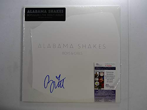 Signed Alabama Shakes Brittany Autographed Boys & Girls 12