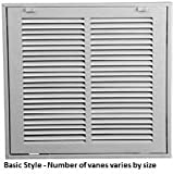 30 X 12 Air Return Filter Grille Stamped Steel Face by Pro Select