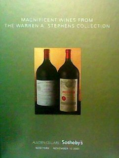 - Magnificent Wines From the Warren A. Stephens Collection