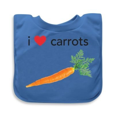 green sprouts' by i play.' Carrots Favorite Food Absorbent Bib
