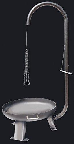 Grillgalgen aus Eisen für Feuerschale 55cm bis 75 cm