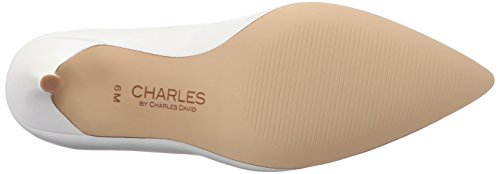 Charles By Charles David Mujeres Pact Dress Bomba De Cuero Blanco