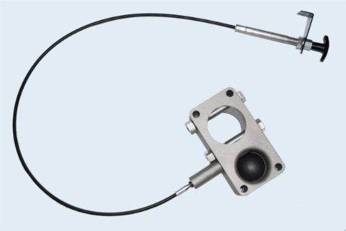 Andersen Mfg 3231 Ultimate Connection Kingpin Coupler Complete Assembly Include Latch Cable Rectangle Andersen Hitches