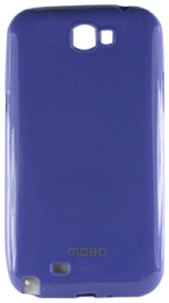 MOBO Cell Phone Case for Samsung Galaxy Note II - Retail Packaging - Purple