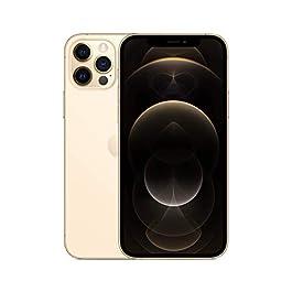Apple iPhone 12 Pro, 128GB, Gold – Fully Unlocked (Renewed)