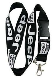 Jeep Wrangler Dimensions - Jeep Lanyard Keychain Badge Holder by Luckystone
