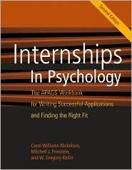 Internships in Psychology Workbook 2nd (second) edition Text Only