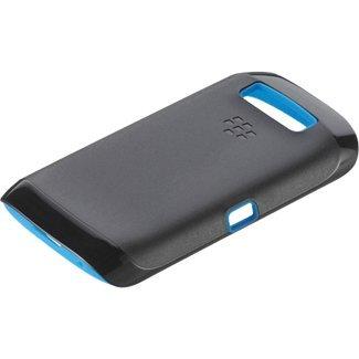 Research In Motion Blackberry Torch 9850/9860 Premium Skin Case Black/Blue (Torch Skin Blackberry)