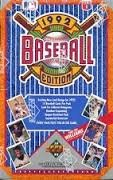 1992 Upper Deck Series 1 (Low) MLB Baseball box (36 pk) (Mlb Series Deck Upper)