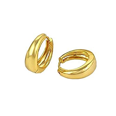 4bca07f47c928 Amaal Men Jewellery Kaju Bali Salman Khan Style Gold Hoop Earrings for Men  and Boys Man Unisex Bali-BALI-701