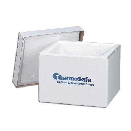 Dry Ice Storage Chest - ThermoSafe 311 Storage and Transport Chest Dry Ice Keeper with Fiberboard Case, 0.6 cu. ft. Volume, 15.125