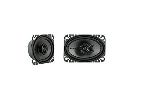 Kicker KSC4604 KSC460 4x6 Coax Speakers with .5