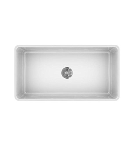 LaToscana LTW3619W 36-in Fireclay Sink
