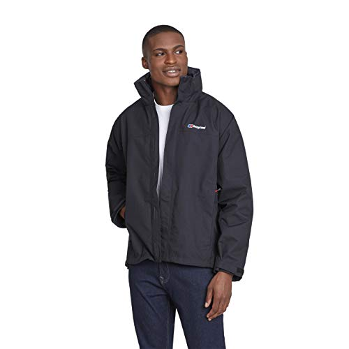 Berghaus Men's RG Alpha Waterproof Jacket, Black, X-Large from Berghaus